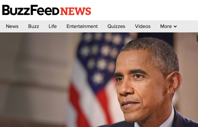 Obama en Buzzfeed